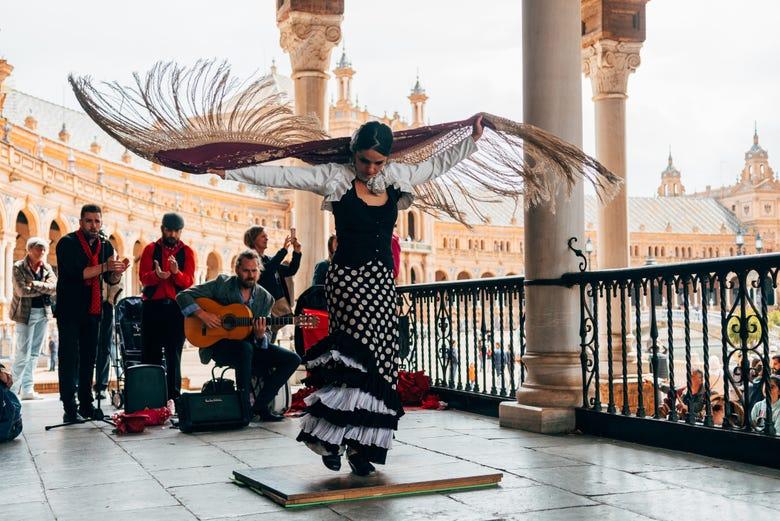 ,Tour por Sevilla,Espectáculo Flamenco,Triana