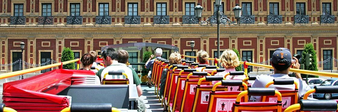 Ônibus turístico de Sevilha