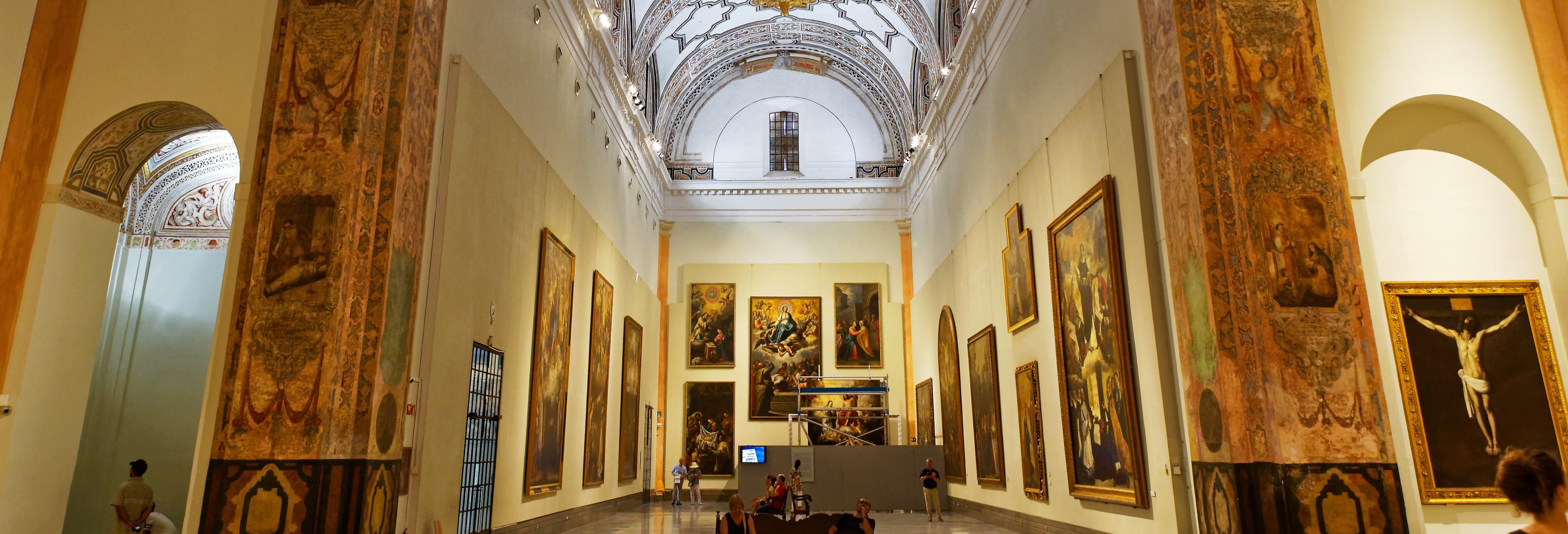Visita guiada pelo Museu de Belas Artes
