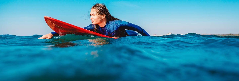 Curso de surf en Somo
