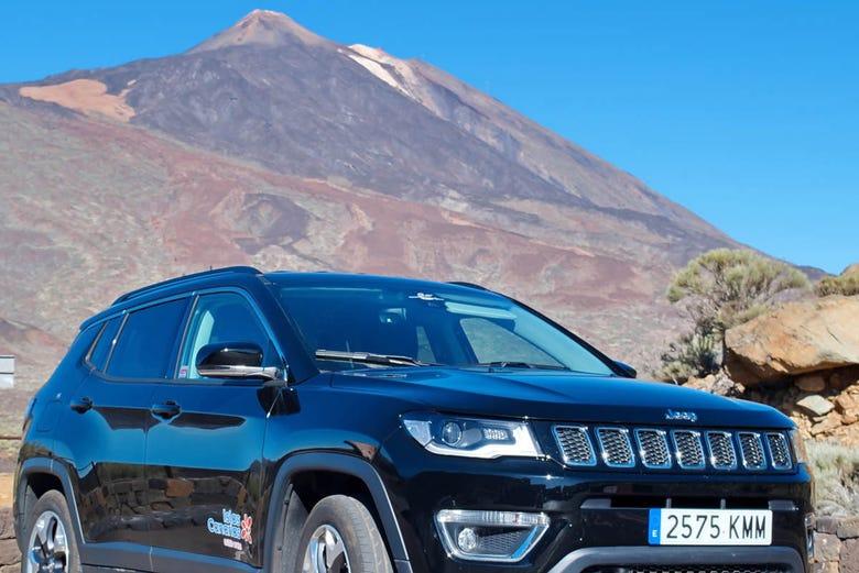 ,Excursión a Teide,Valle de Masca,Jeep Safari