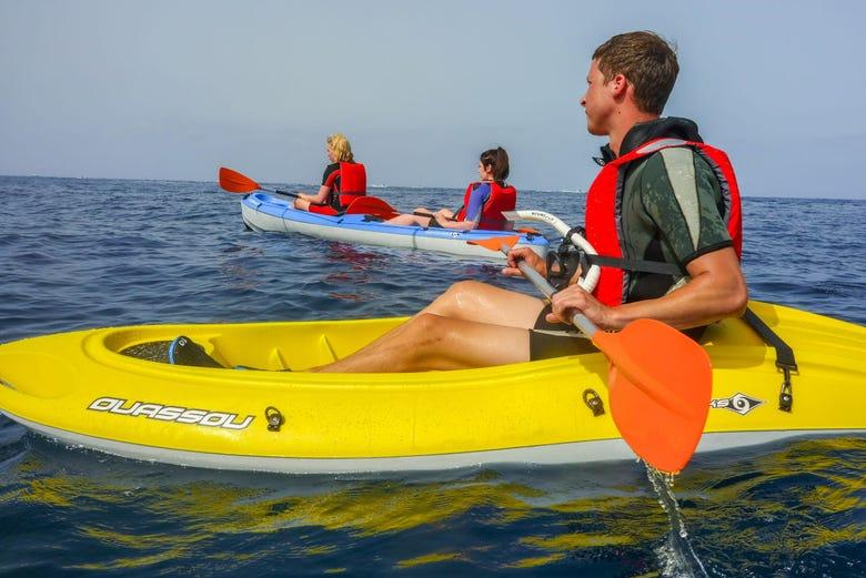 Kayak Snorkel En Los Cristianos