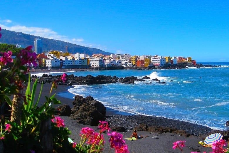 Tour en segway por puerto de la cruz tenerife for Playa ciudad jardin