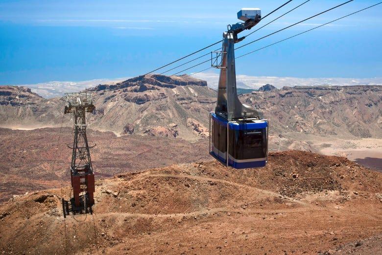 ,Con teleférico,Excursión a Teide,Senderismo y naturaleza
