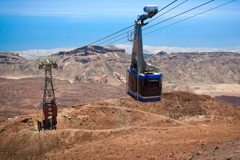,Excursión a Teide,Con teleférico
