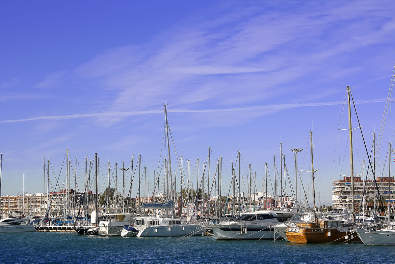 Visite du port de Torrevieja