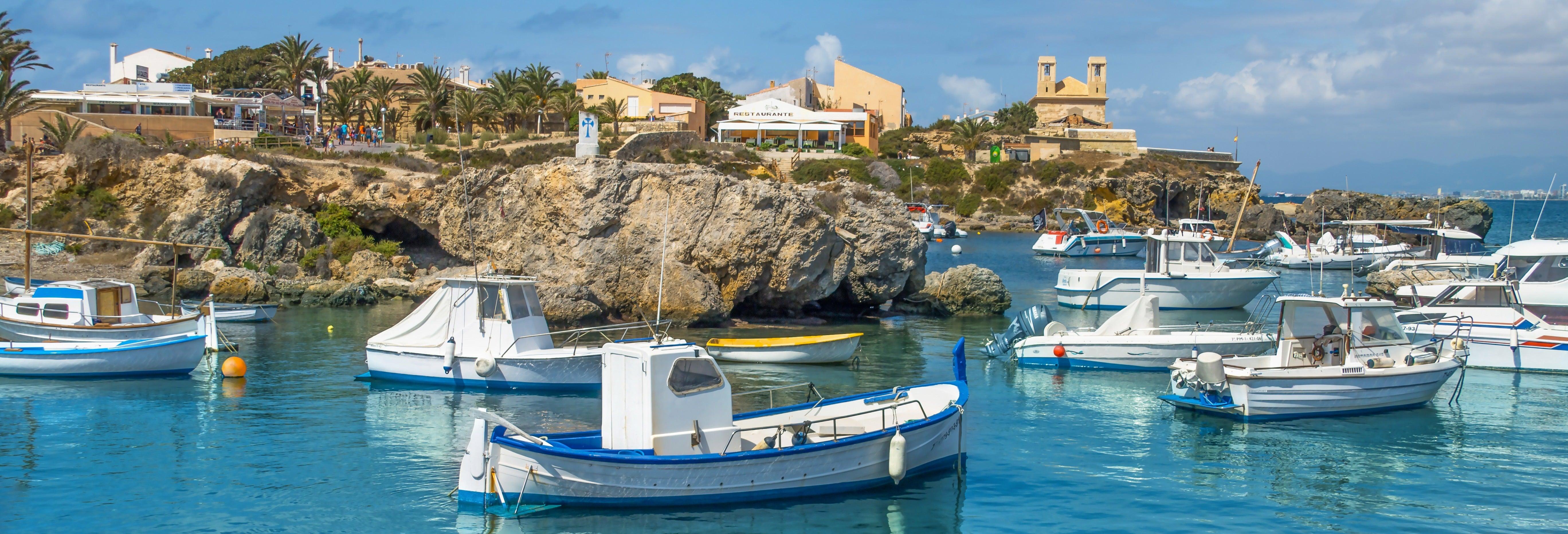 Excursión al Mar Menor y Tabarca en moto de agua