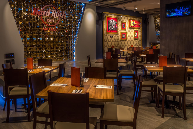 Déjeuner ou dîner au Hard Rock Café, Valence