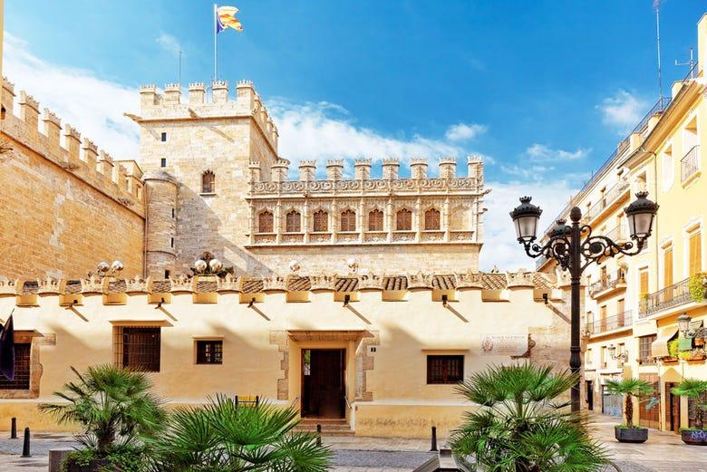 Visite de la soie à Valence
