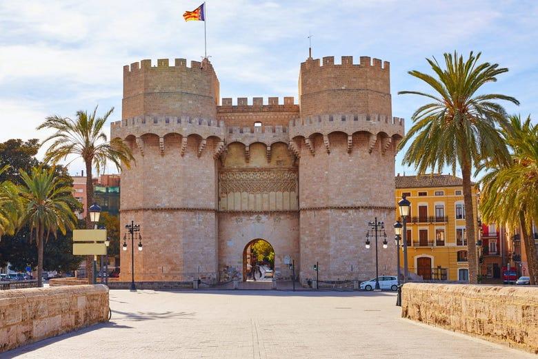 Visite guidée de Valence et de la Loge de la Soie