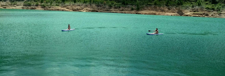 Paddle surf al lago di Arenós + Castello della Viñaza