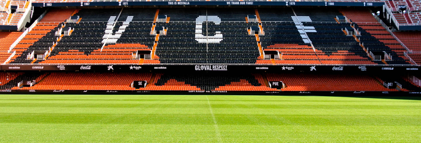 Tour del estadio de Mestalla