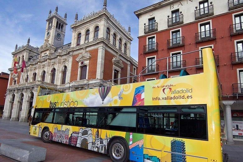 Bus touristique + Valladolid Card