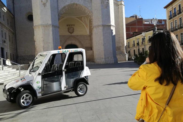 Visite de Valladolid en voiture électrique