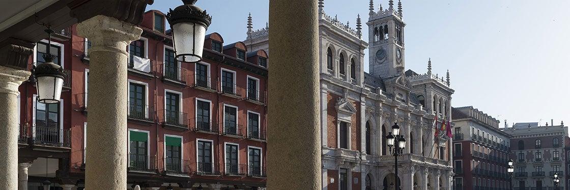 As ruas e praças mais importantes de Valladolid