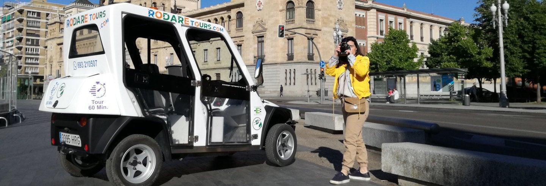 Tour en coche eléctrico por Valladolid