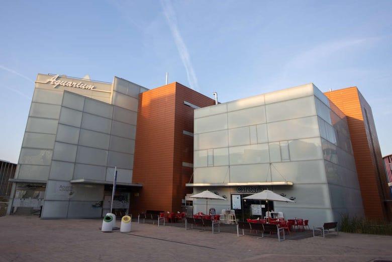 Billet pour l'Aquarium de Saragosse