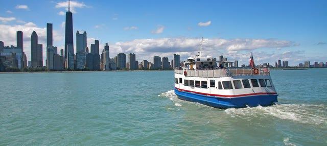 Paseo en barco por el Lago Michigan