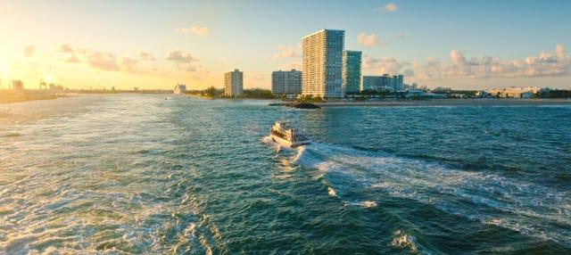 Paseo en barco al atardecer por Fort Lauderdale