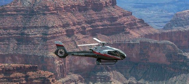 Paseo en helicóptero por el Gran Cañón