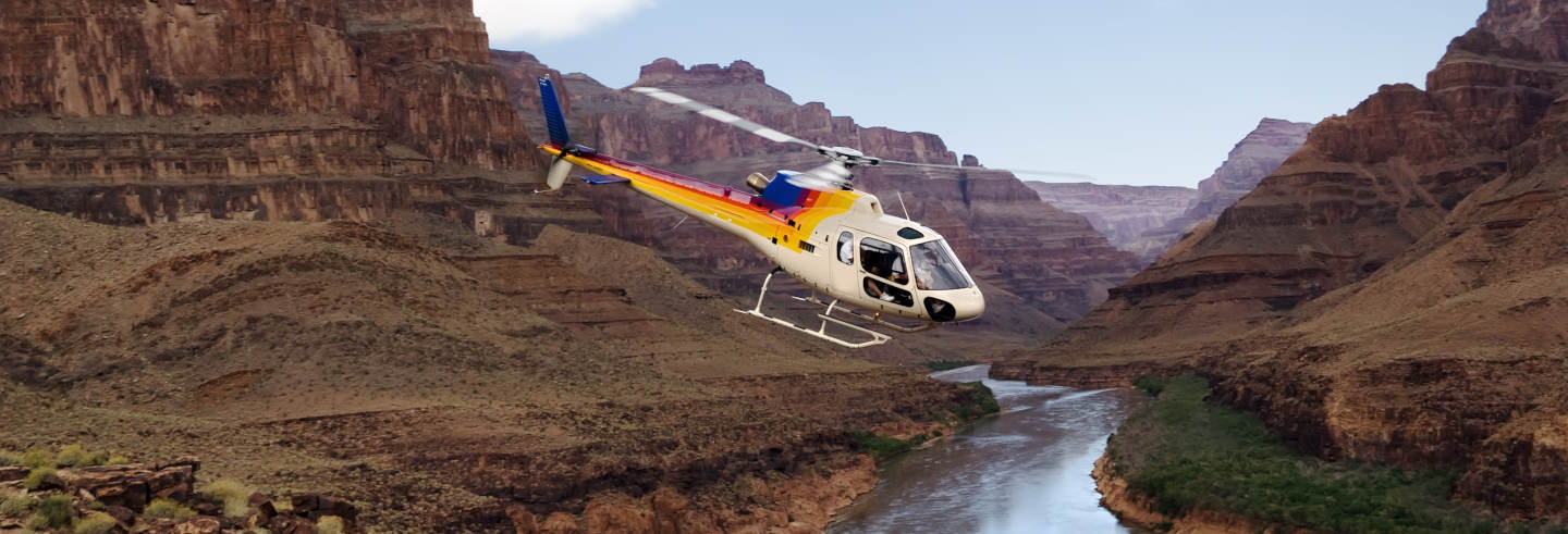 Ticket Grand Canyon + Giro in elicottero e barca