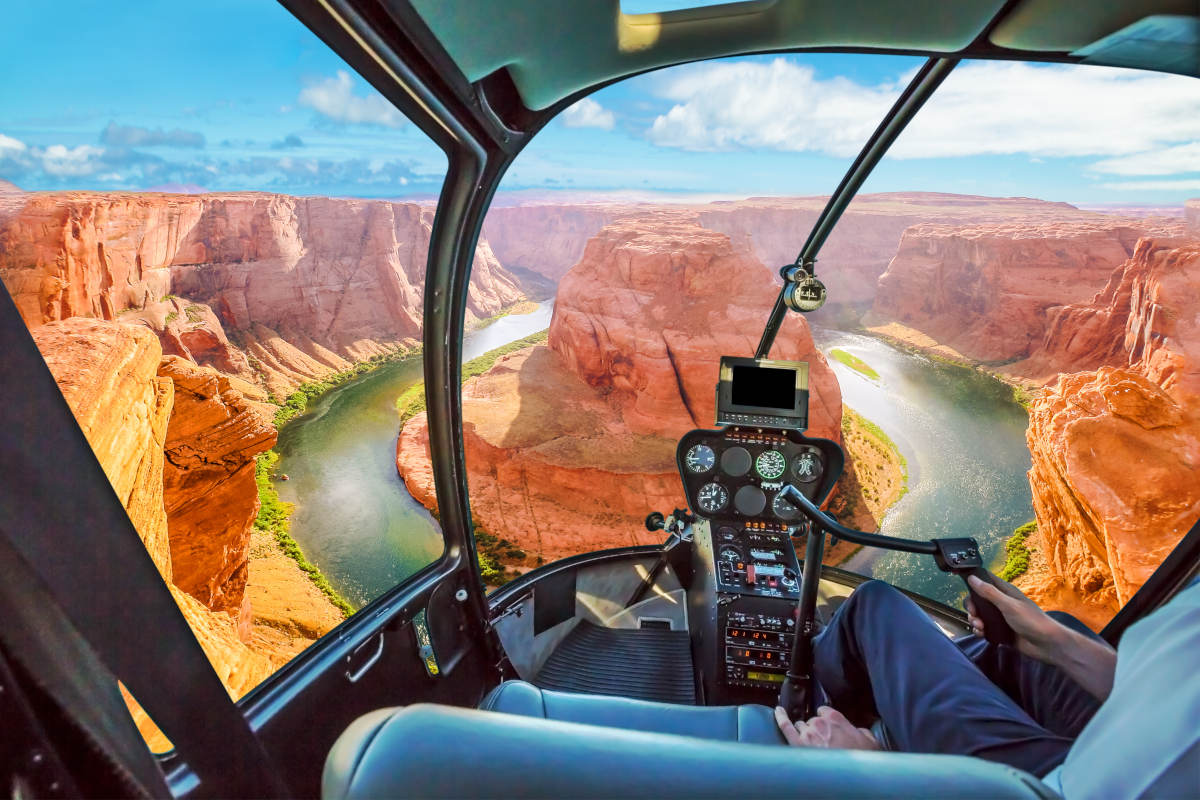 Grand Canyon Ticket Helicopter And Boat Ride