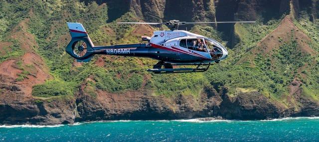Paseo en helicóptero por Kauai
