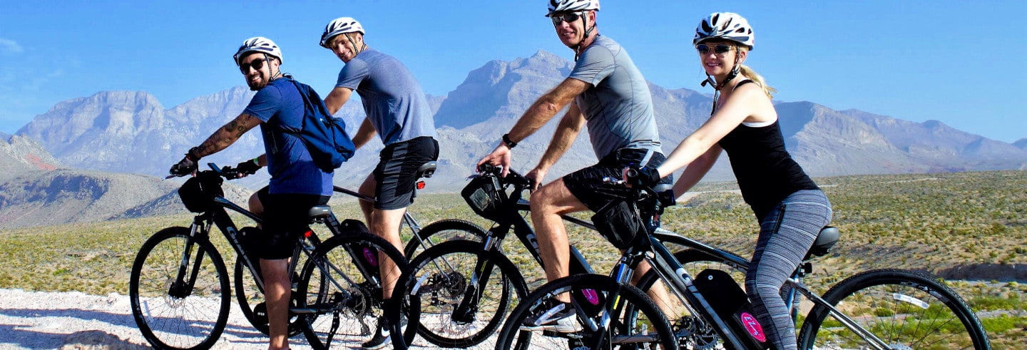 Tour del canyon Red Rock in bici elettrica