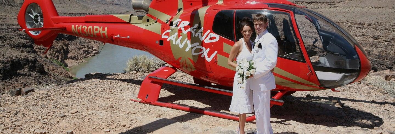 Casamento no Grand Canyon + Helicóptero