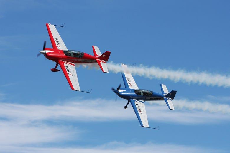 avion acrobatico