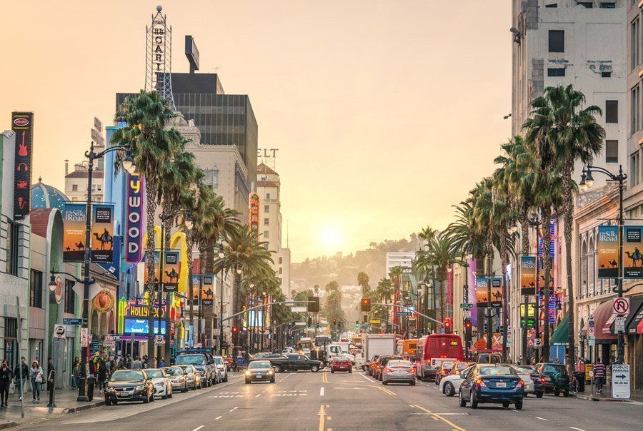 Image result for hollywood boulevard