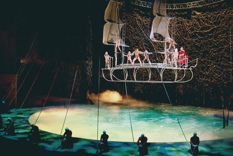 Entradas para o circo del sol las vegas for Espectaculo circo de soleil