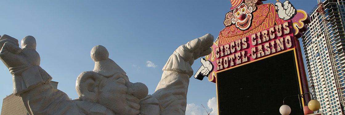 Il circo del Circus Circus