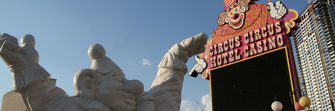 El circo del Circus Circus
