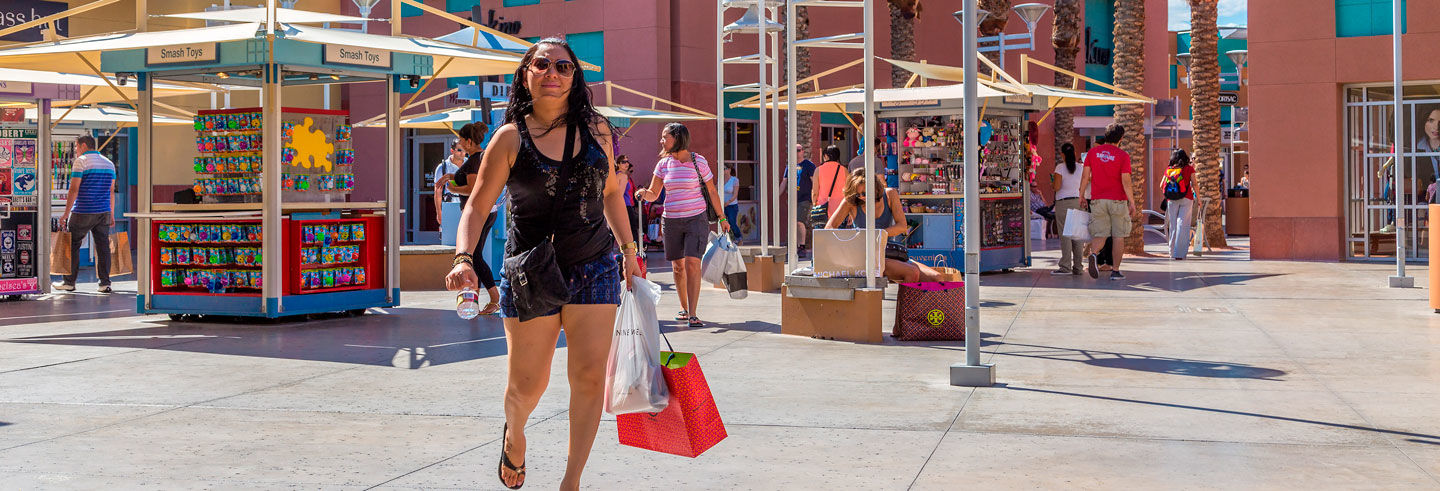 Tour dello shopping al North Premium Outlets