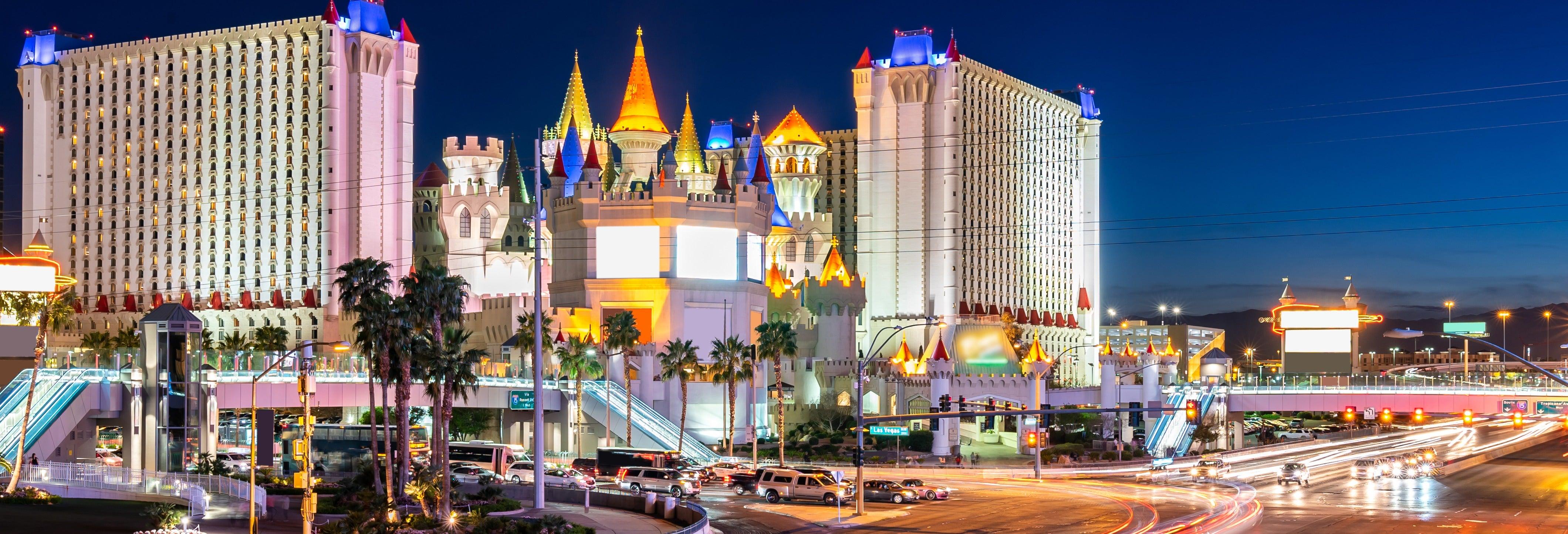 Tour noturno por Las Vegas