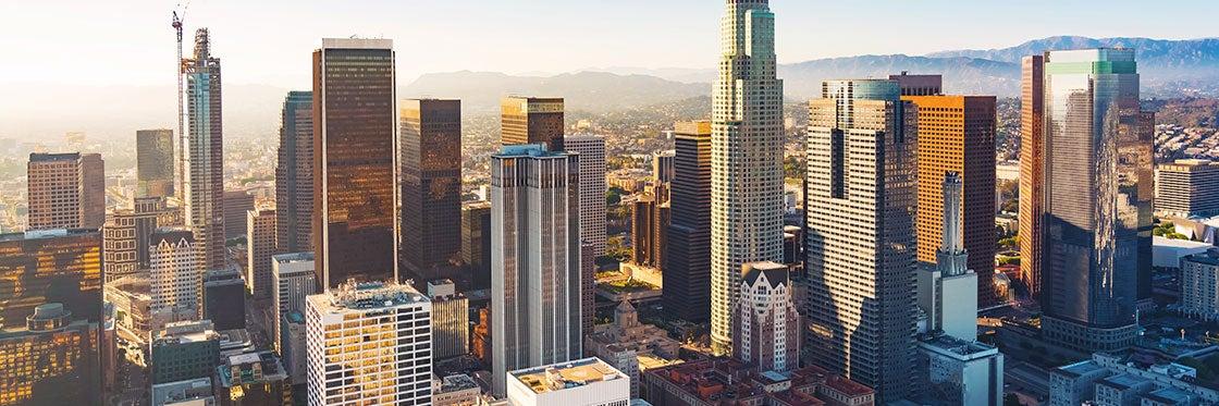 O tempo em Los Angeles