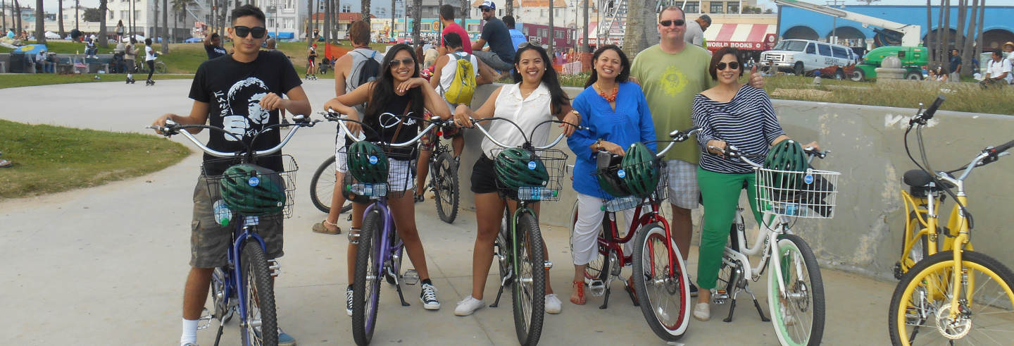 Tour di Los Angeles in bici elettrica