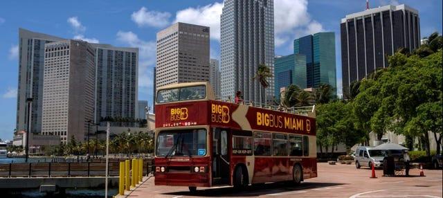 Autobús turístico de Miami