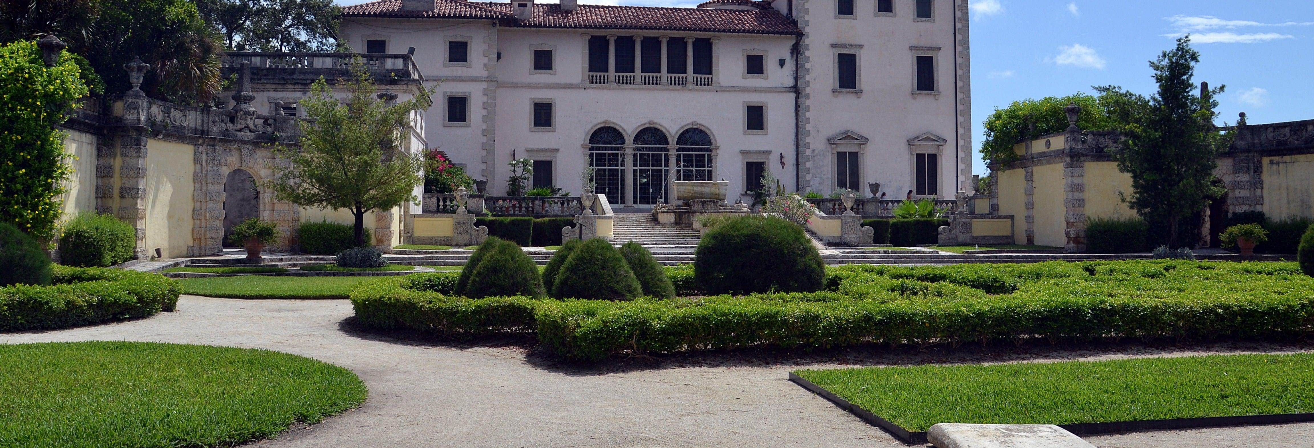 Ticket to Villa Vizcaya and Gardens