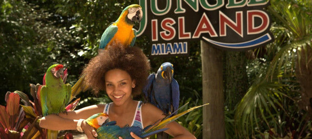 Entrada a Jungle Island