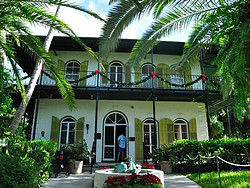 Hemmingway's house in Key West