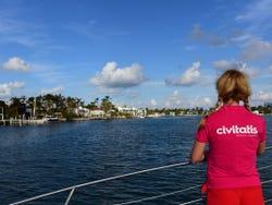Touring Miami Bay