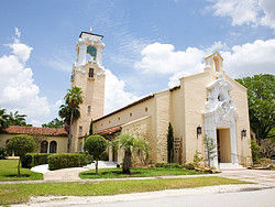 A church in Coral Gables