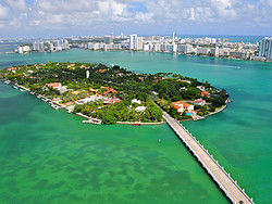 Star Island, the home of Miami's celebrities