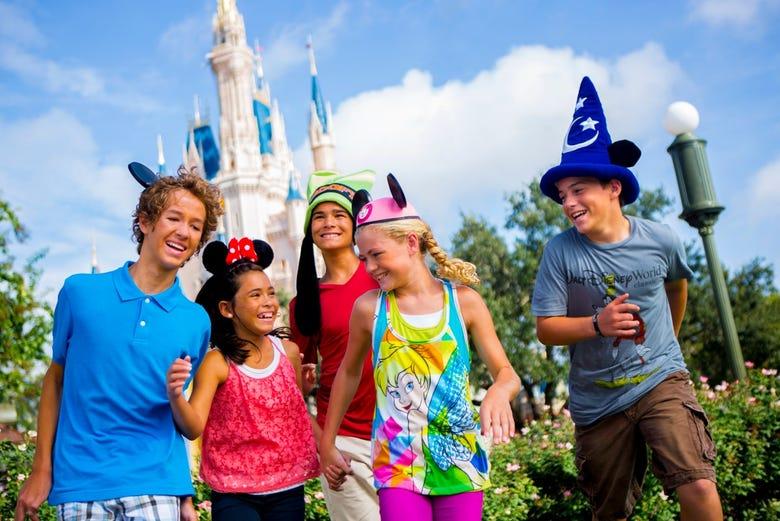 Entrada a Walt Disney World Orlando, Miami