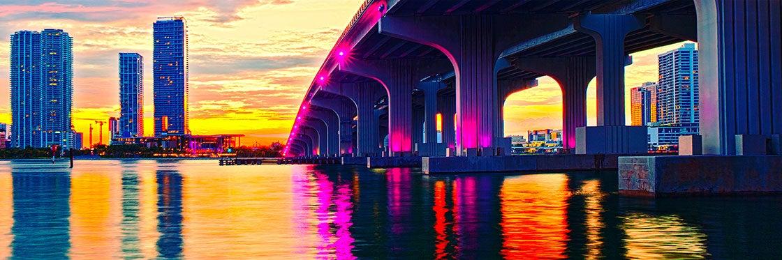 Baie de Biscayne à Miami