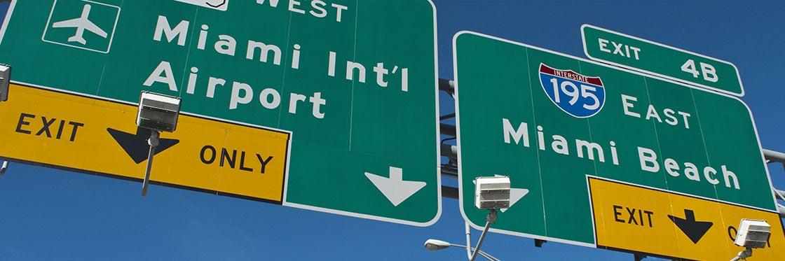 Cómo llegar a Miami