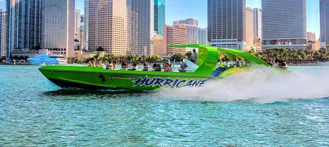 Paseo en lancha rápida JetBoat