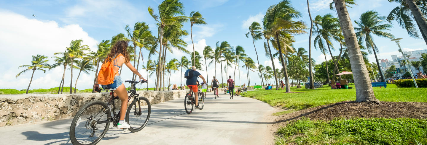 Tour de bicicleta por South Beach